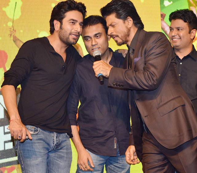 Shekhar Ravjiani, Amitabh Bhattacharya, Shahrukh Khan, Bhushan Kumar