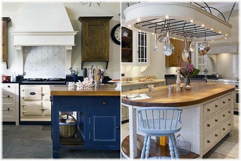 5 kjøkken øy design - interiør inspirasjon