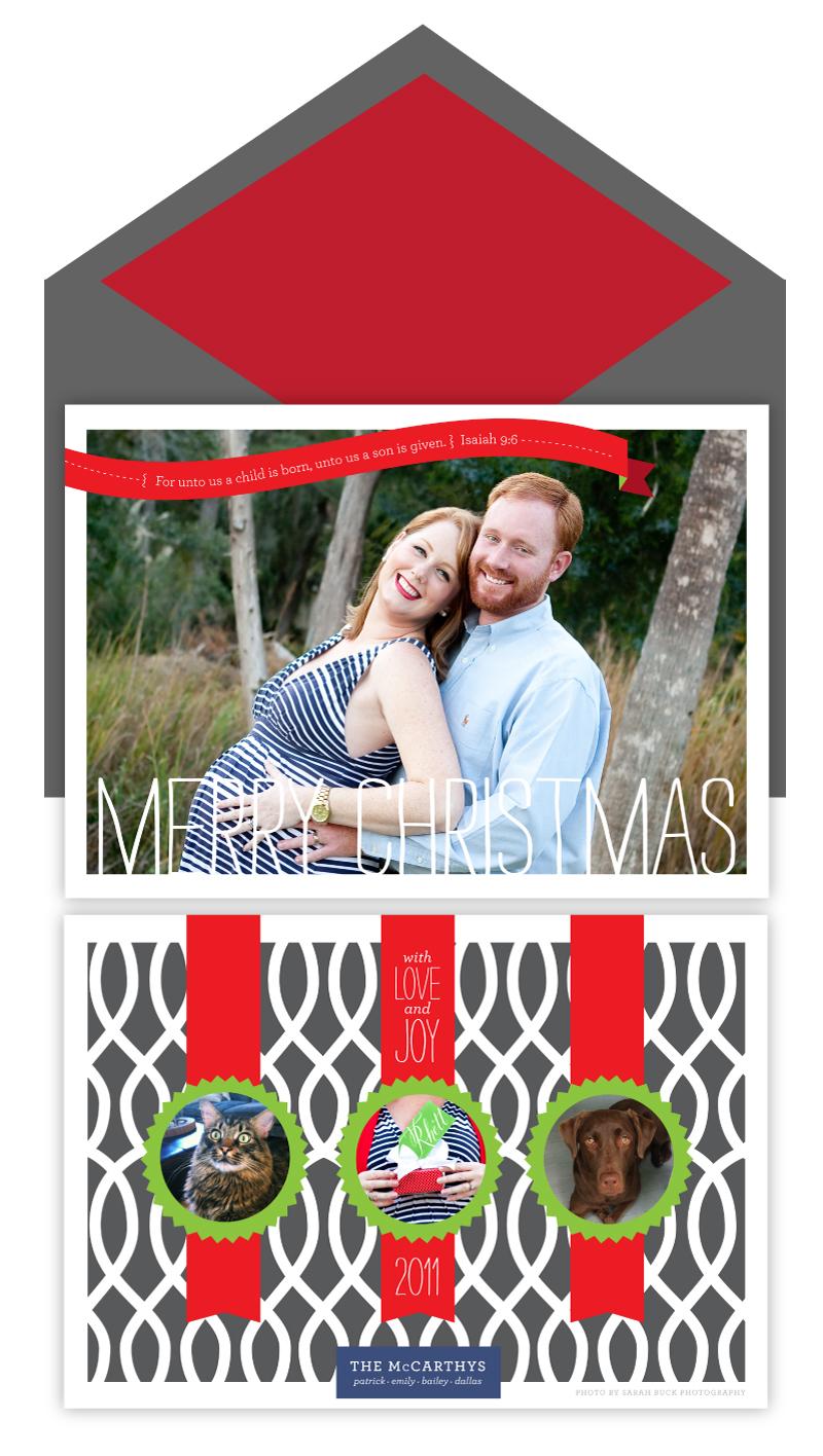 Our custom Christmas Cards! - emilymccarthy.com
