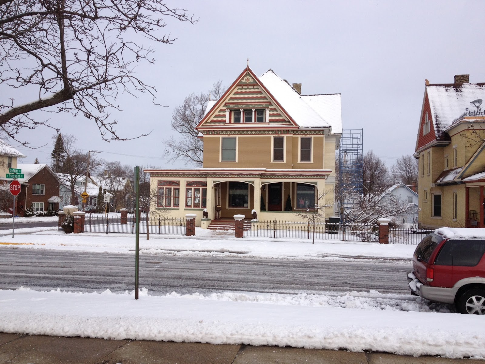 Our Victorian Home Restoration March 2012