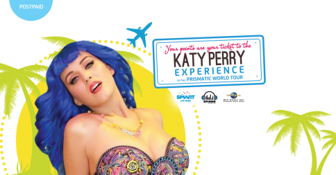 SMART Fly to California & Watch Katy Perry Promo, SMART Katy Perry, Prismatic World Tour