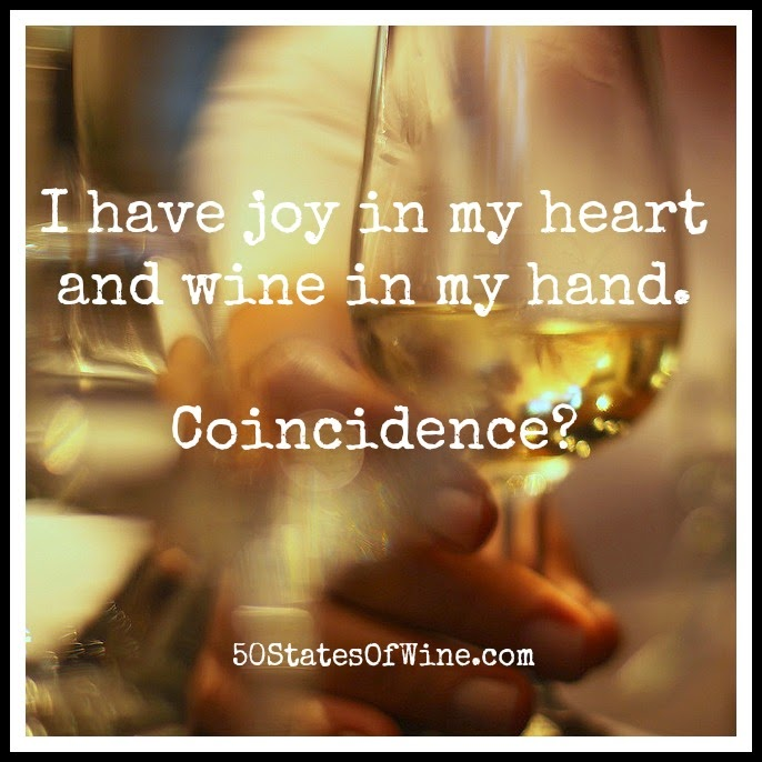 Wine Wednesday: Joy in my Heart