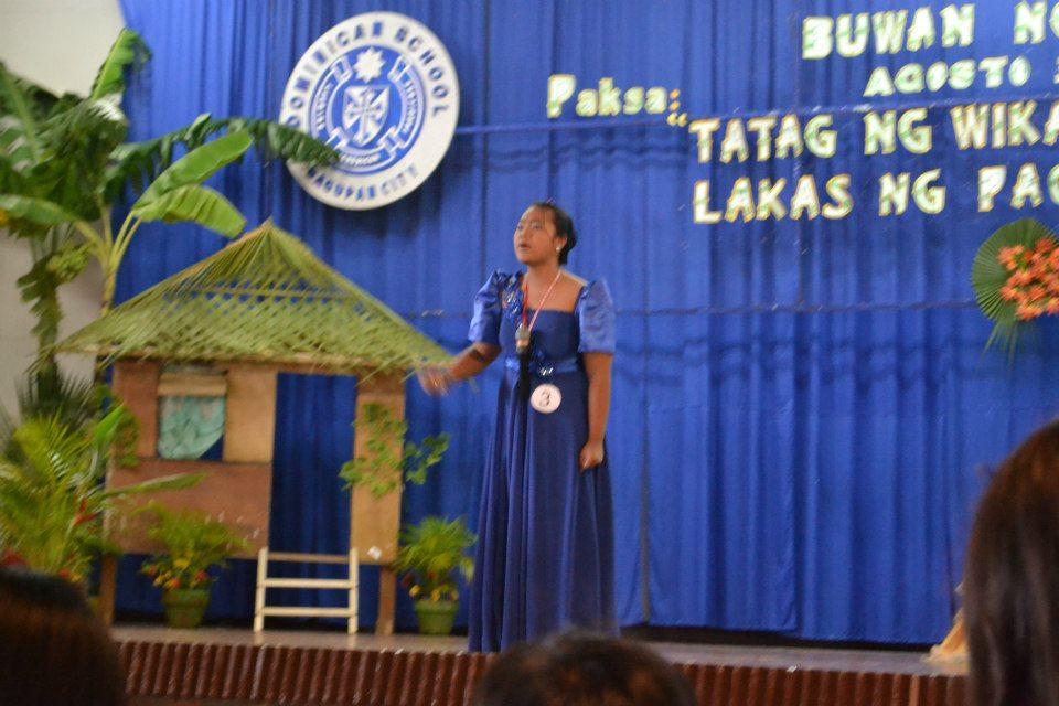 paligsahan ang naganap katulad ng Tagisan sa Talumpati, Tula at