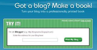 Merubah blog menjadi buku