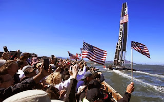 racing fans, Oracle Team USA, America's Cup