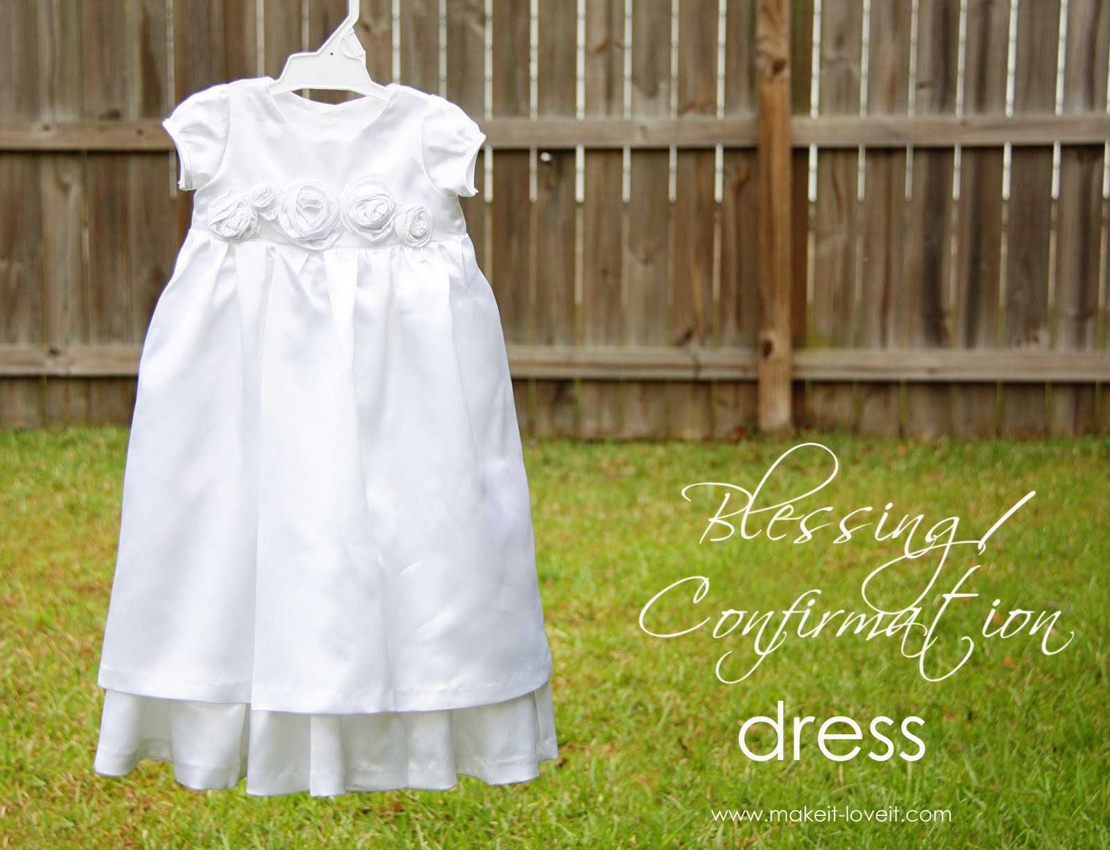 Blessing/Confirmation Dress – Make It and Love It