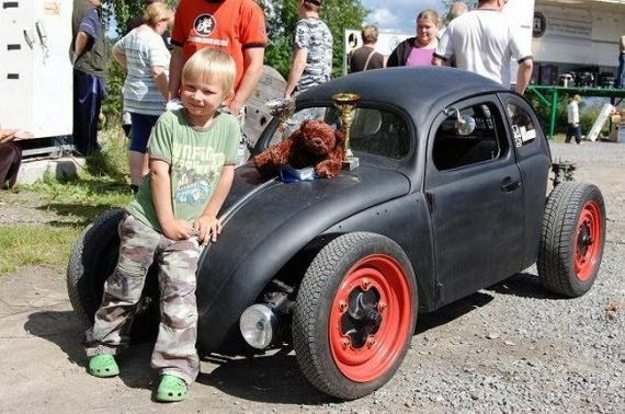 pictures, awesome, cool, mini car, awesome dad, cool dad, amazing
