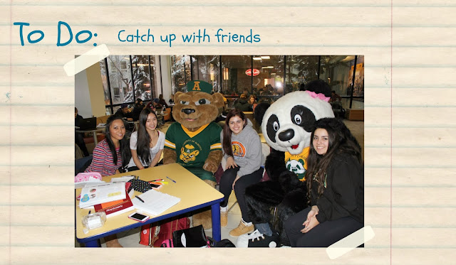 Guba and Patches catch up with friends