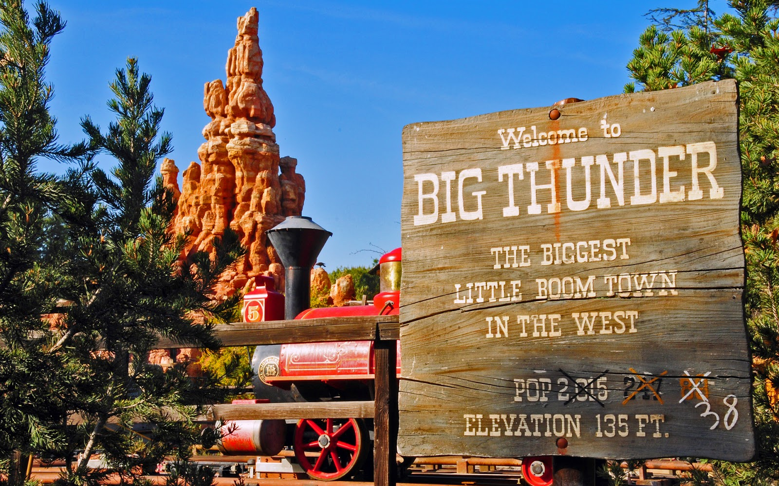 big thunder mountain railroad -#main