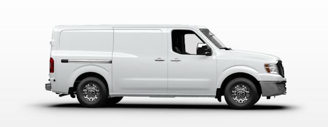 2015 Nissan NV white