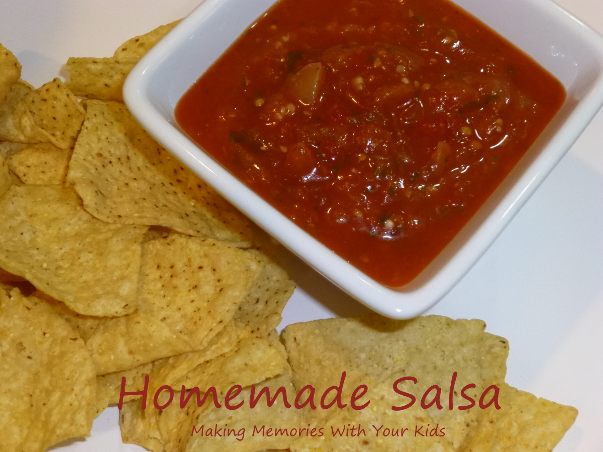 The best homemade salsa recipe making memories with your kids