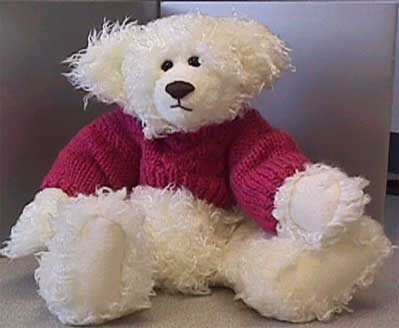 Jumper Knitting Pattern For A Teddy Bear : Quilt, Knit, Run, Sew: Knit a Sweater for your Teddy Bear