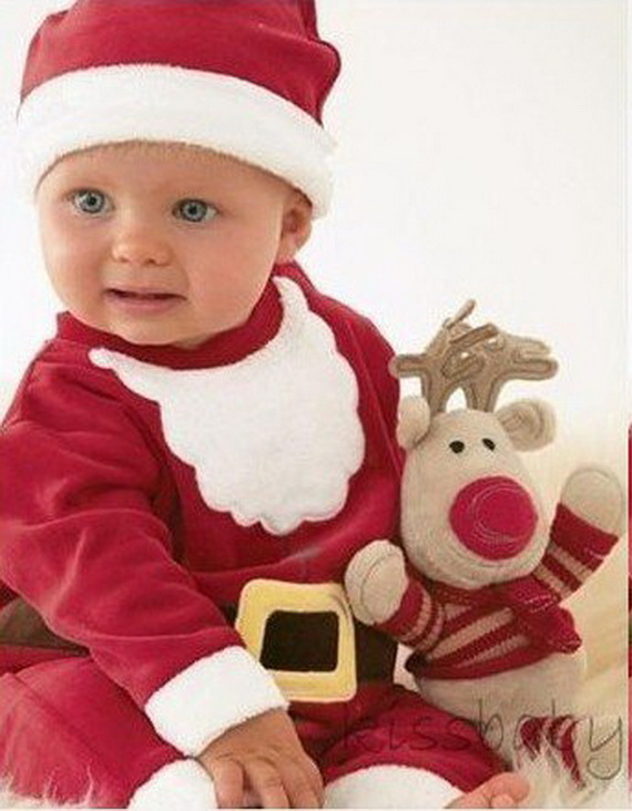 Cute Baby Gifts For Christmas : Cute christmas dresses for babies long