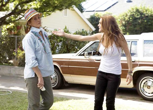 Lindsay Lohan actuando | Ximinia