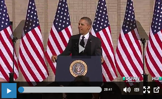 http://www.c-span.org/video/?318005-1/president-obamas-speech-economy