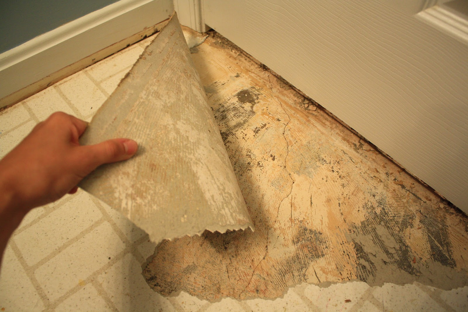 Simply Diy 2 Bathroom Floor Part 1 Before Grout
