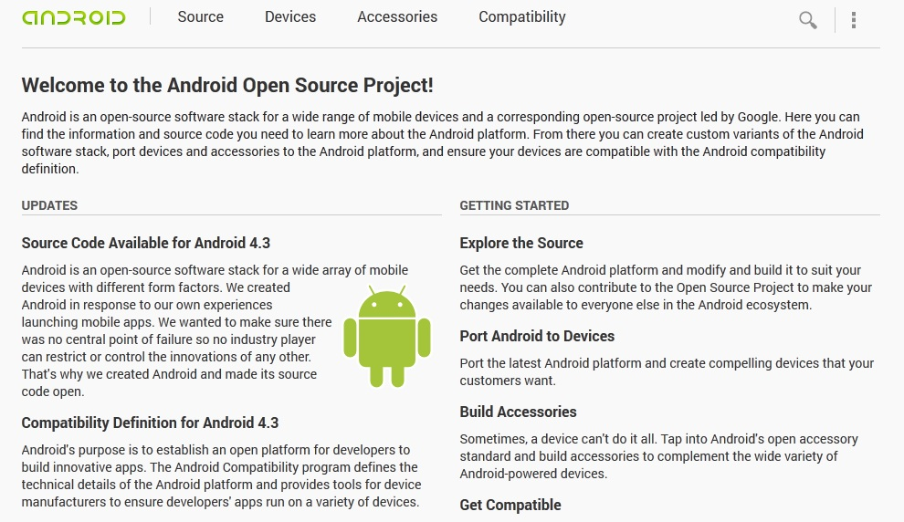 open source android projects Open source resources explore our list of open source applications and projects.