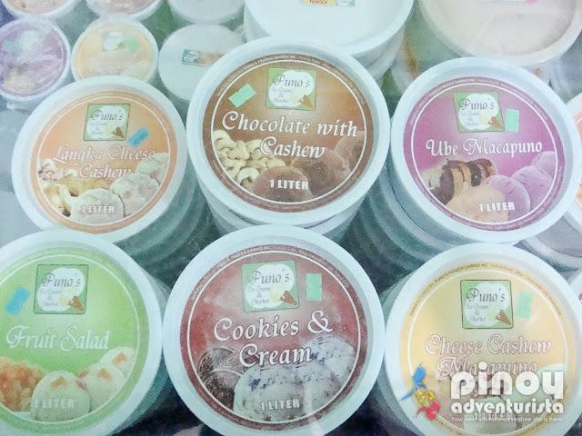 Puno Ice Cream Flavors Cabanatuan City
