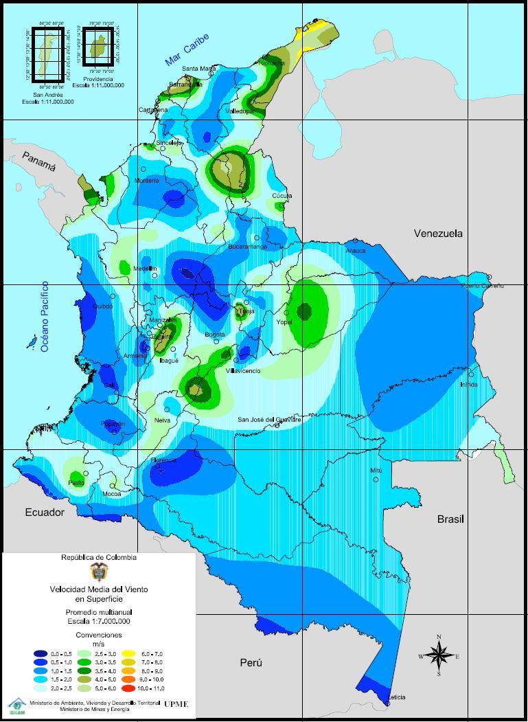 Wind power in Colombia La Guajira wind energy potential is 18 GW