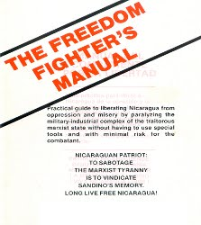 """The Freedom Fighter's Manual"": The CIA's sabotage guide against the Nicaraguan Sandinistas"