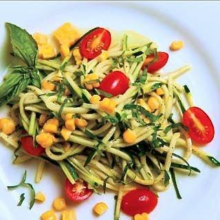 Zucchini Corn & Tomato Salad