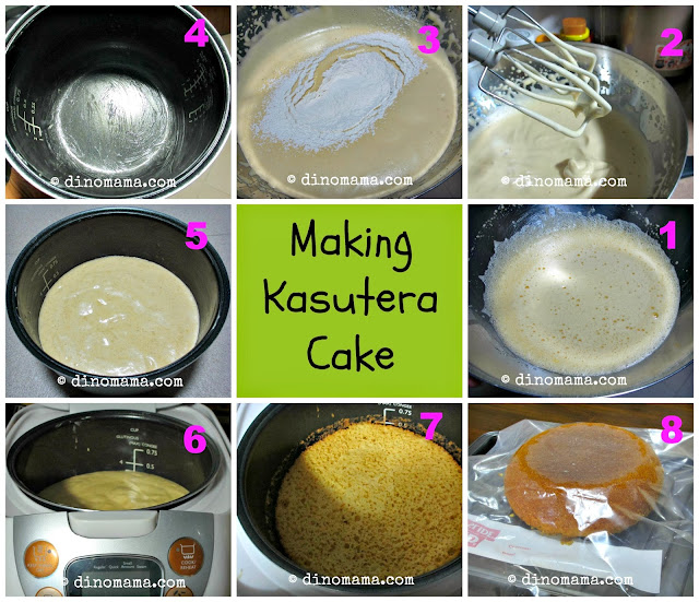 Rice Flour Sponge Cake Recipe
