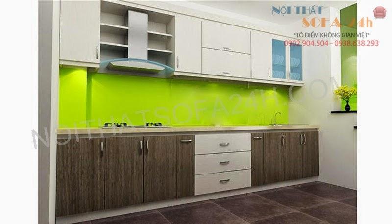 Tủ bếp TB043