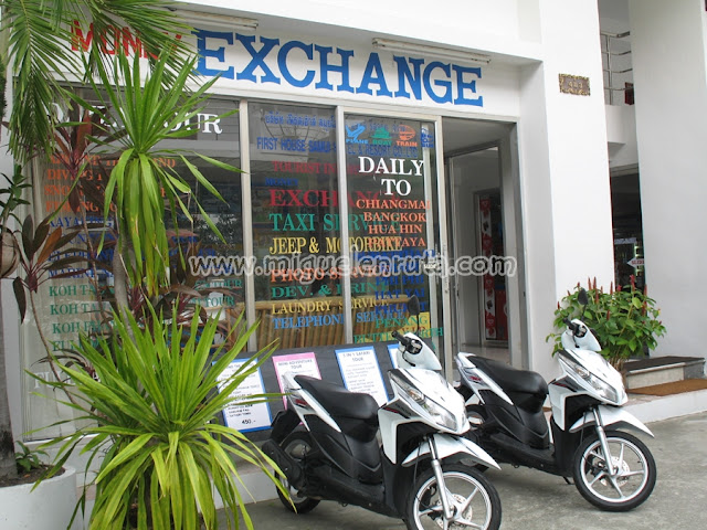 Motorcycles for rent Thailand