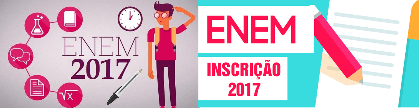 ENEM-2017 - INSCRIÇÃO