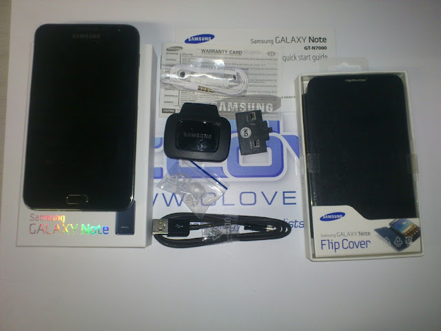 Samsung Galaxy Note unboxing