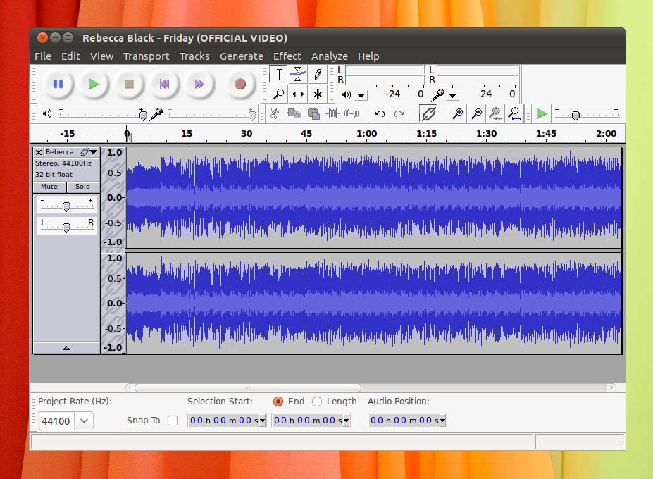 Recording & Editing Audio with Audacity | iheartubuntu