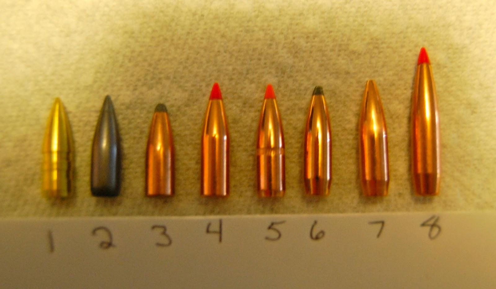 Bullets on S Slug Types