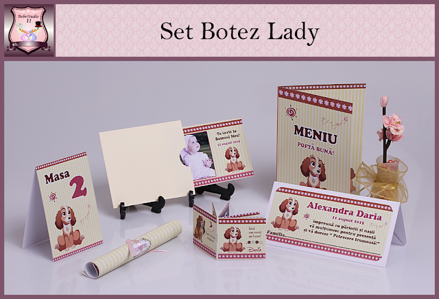 set marturii botez lady