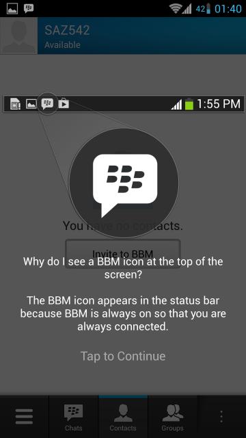 Download BBM Untuk Android v1.0.2.83 Apk Terbaru