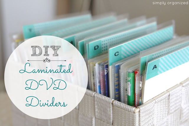 dvd organization diy