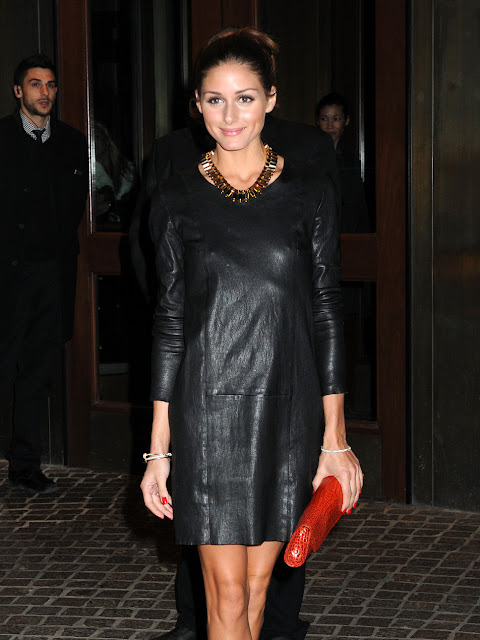 Olivia Palermo , Olivia Palermo outfit, Olivia Palermo statement necklace, Hollywood celebrity statement necklace