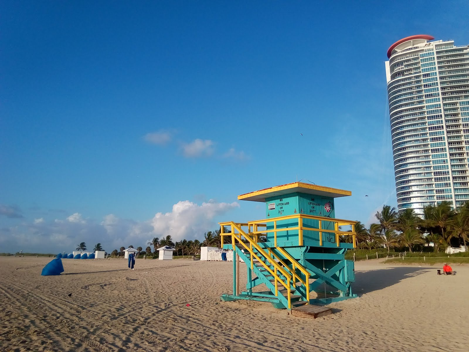 #SouthBeach on an early Sunday morning