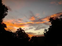 O amanhecer boêmio..