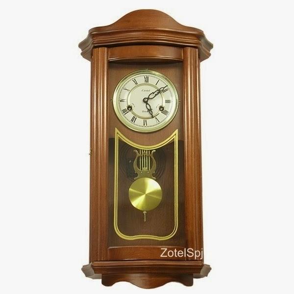 Стильные и оригинальные настенные ретро часы ZegarWall537 с механическим приводом и маятником