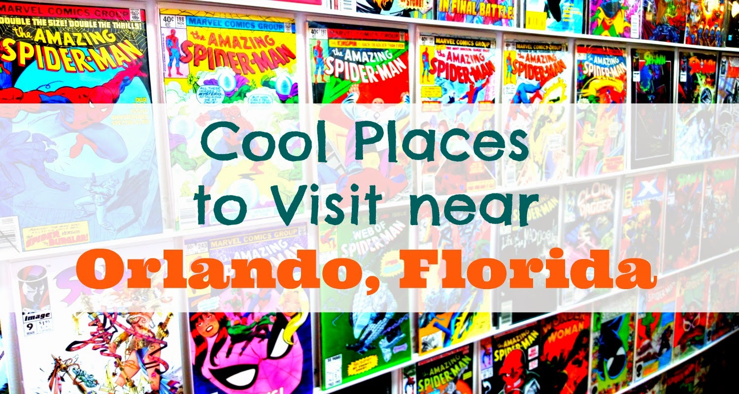 Cool Places to Visit near #Orlando #Florida #travel