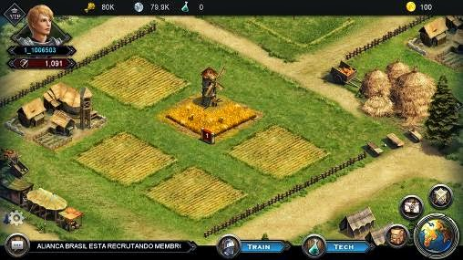 Android Age of Warlords Screenshot
