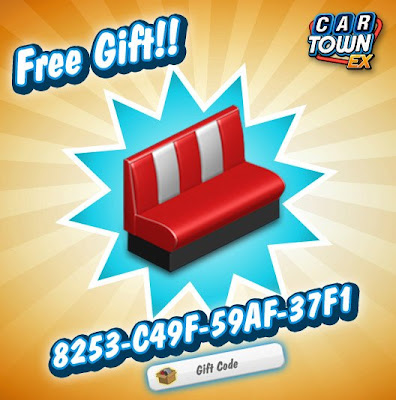 Car Town EX Free Gift Sillon Rojo