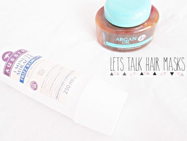Lets talk hair masks, argan oil, 3 minute miracle
