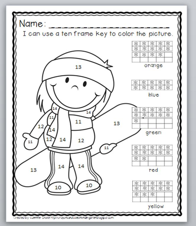 ... 10 kindergarten math worksheets math tens frame addition worksheets