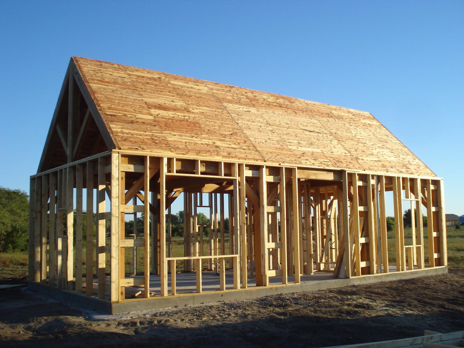 Exterior Roof Framing : Elderslie cottage interior exterior wall and roof framing