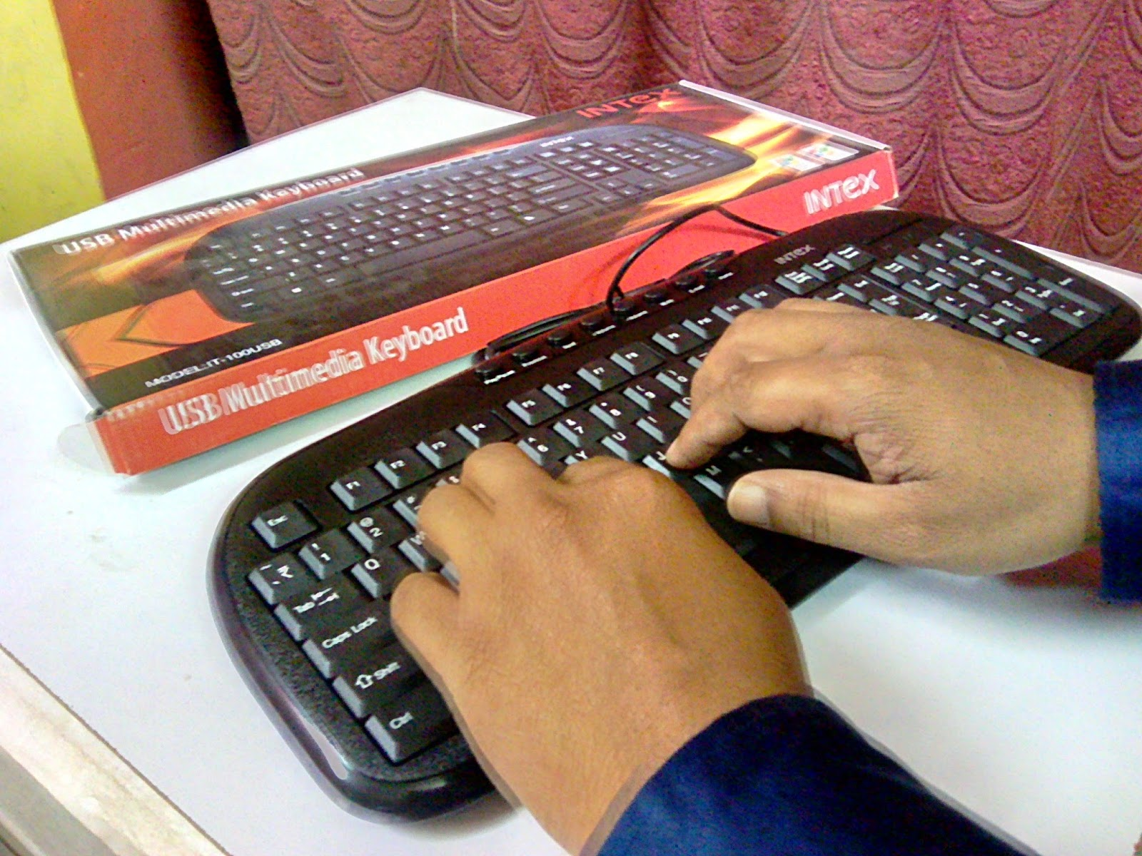 Intex Multimedia Keyboard (IT-100 USB) Price & Testing