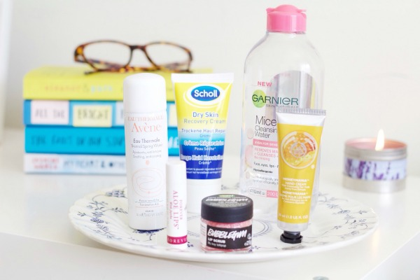 bedside beauty essentials