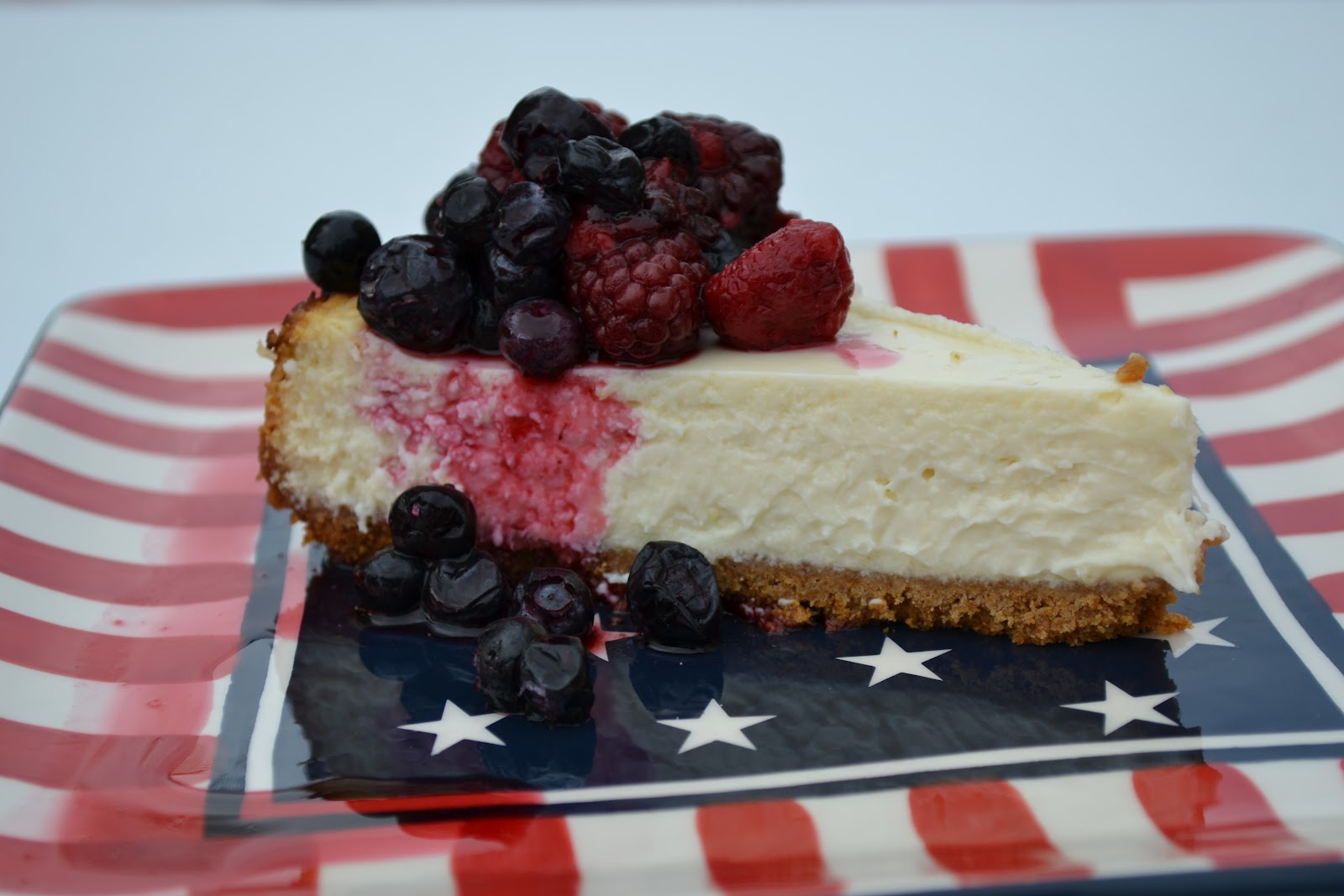 A Taste of Alaska: Light Cheesecake