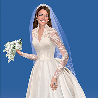 The Royal Kate Middleton Catherine Bride Figurine