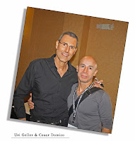 Uri Geller - Cesar Domico Magic Convention Genii magazine 2012